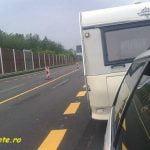 Viteza si distanta intre vehicule cu si fara rulota