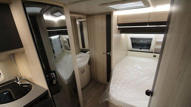 Rulota Hobby 460-dormitor
