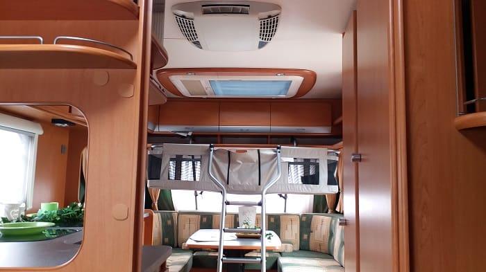 interior Rulota Dethleffs