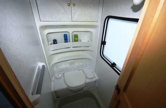 cabina toaleta